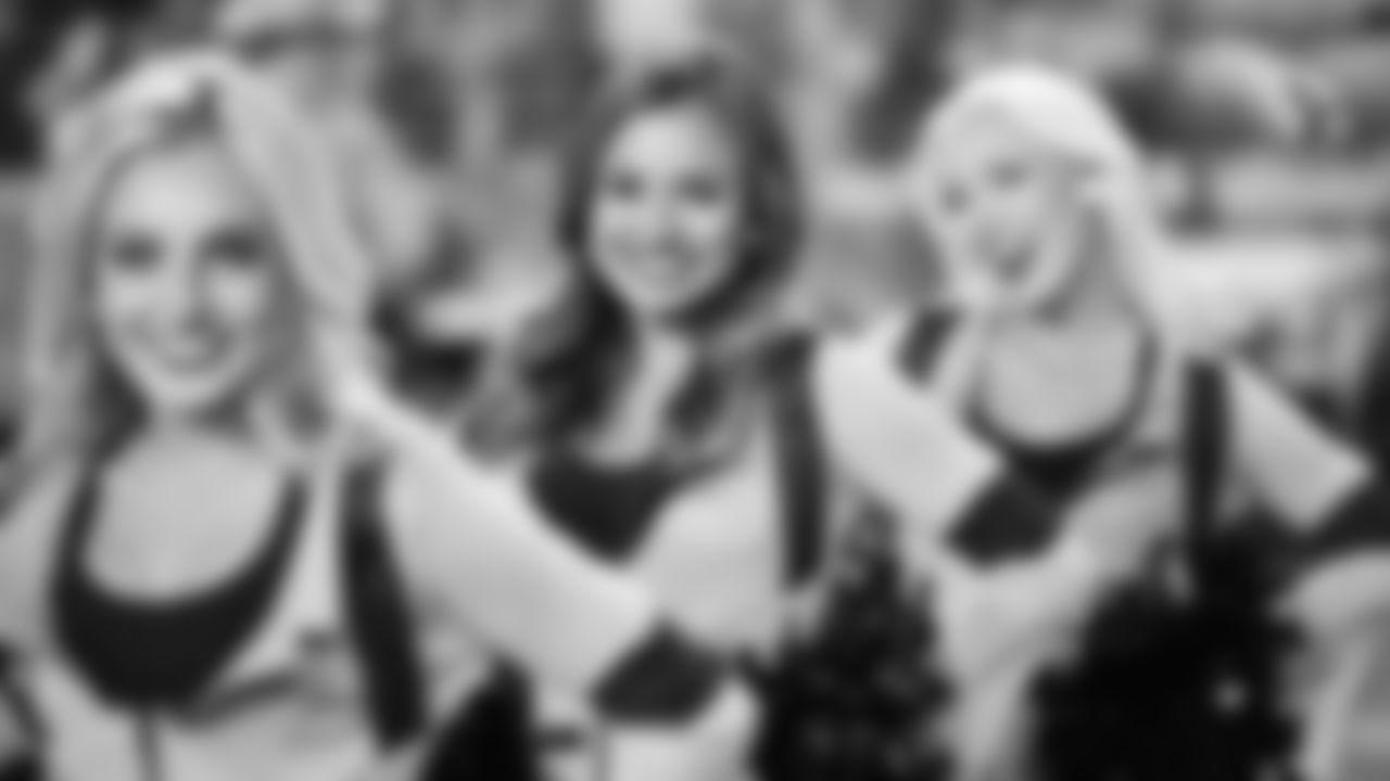 Cheerleaders Perform At Ghostbusters Halftime Show