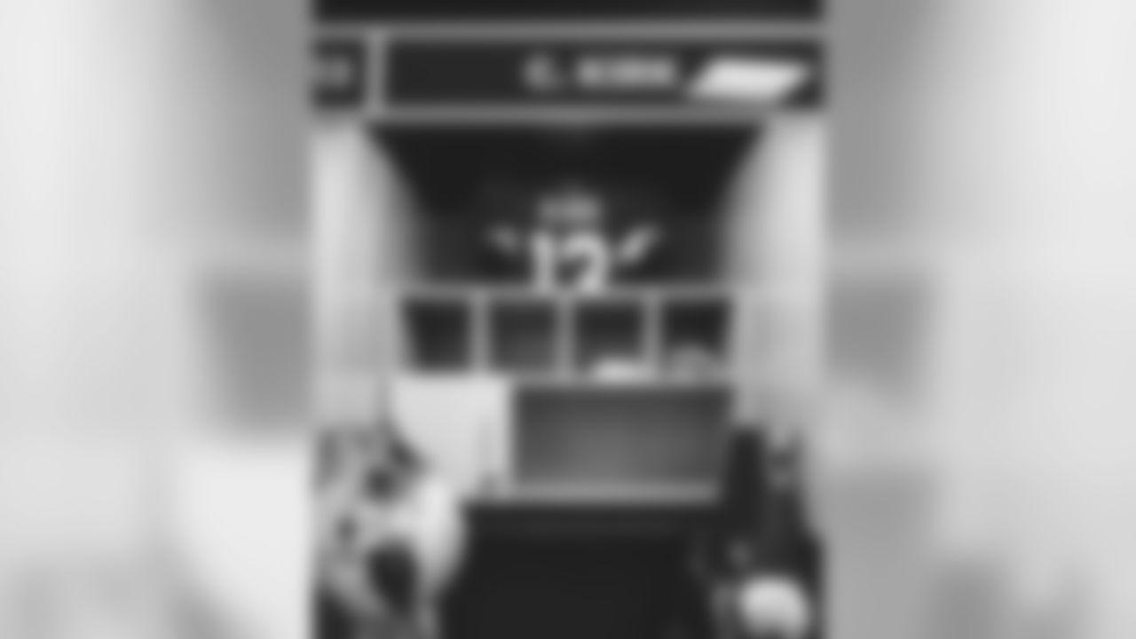 WR Christian Kirk's locker