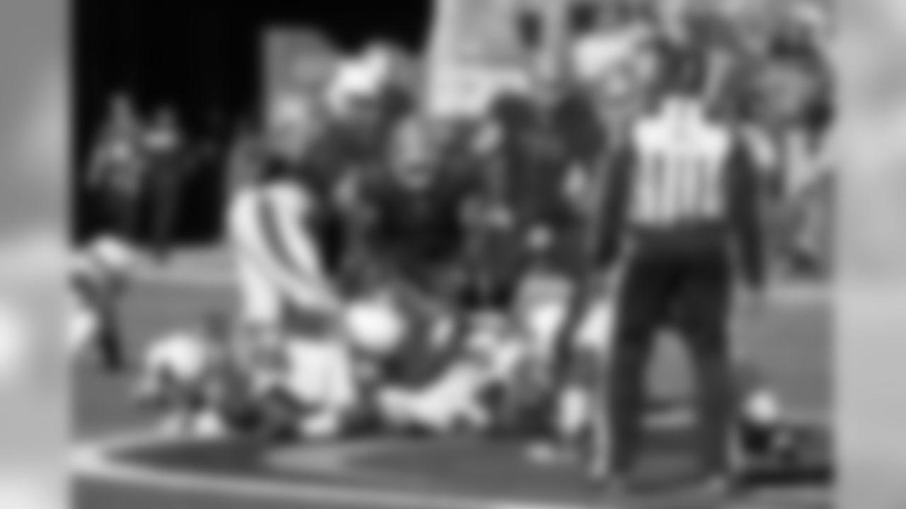 LB Kevin Minter: 1/2 sack