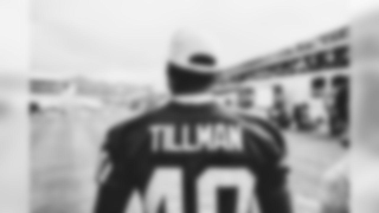 CB Patrick Peterson in a Pat Tillman jersey