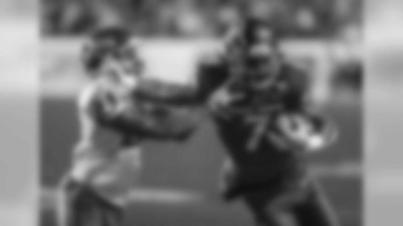 Boise State wide receiver A.J. Richardson