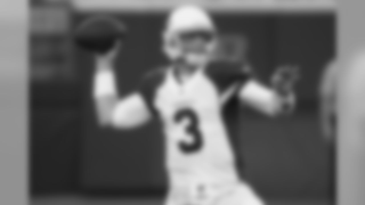 QB Carson Palmer: 4-8, 91 yards