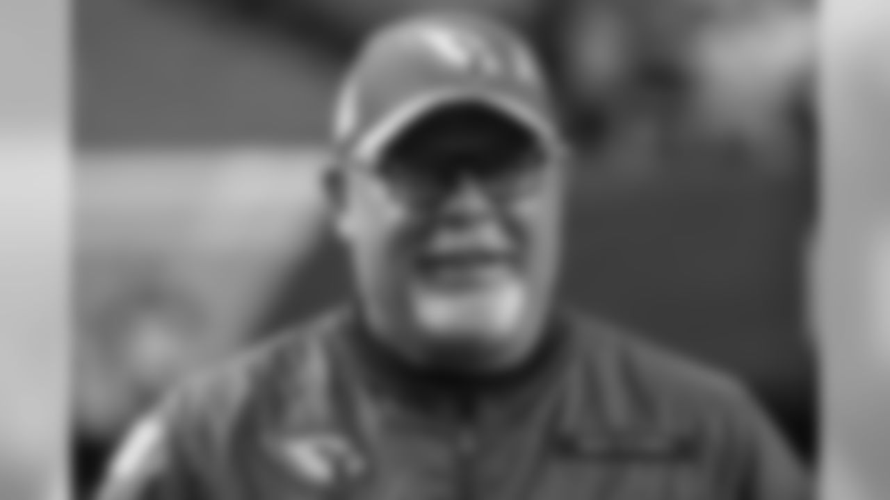 Head coach Bruce Arians