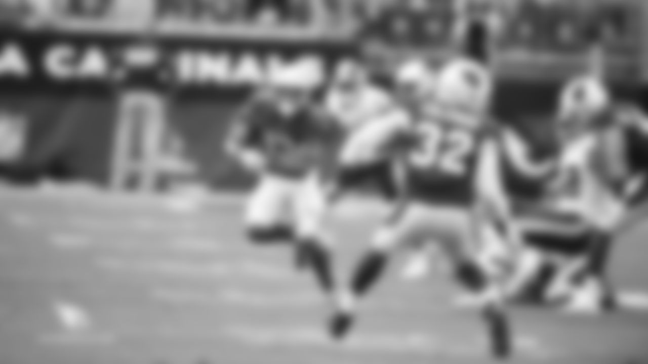 Images of the rookie wide receiver's 44-yard punt return in the Cardinals' 24-6 season-opening loss to Washington