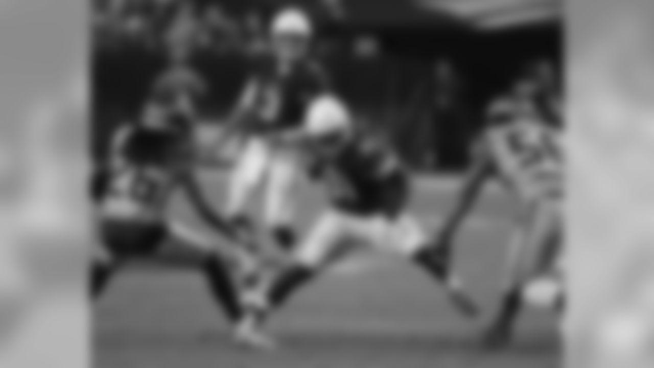 Arizona Cardinals running back David Johnson (31) during an NFL football game against the Seattle Seahawks, Sunday, Sept. 30, 2018, in Glendale, Ariz. (AP Photo/Rick Scuteri)