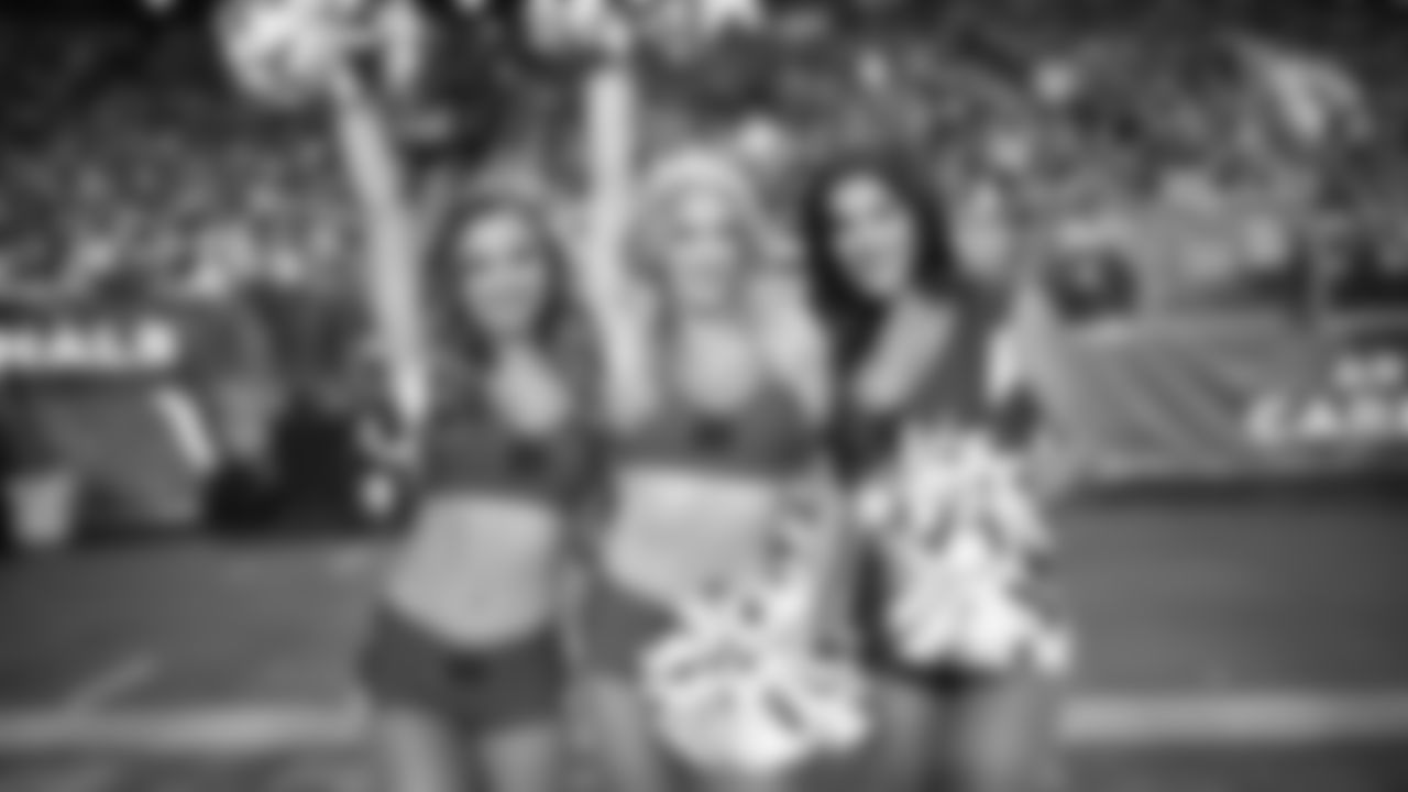 Images of the Cardinals cheerleaders during the Week 14 contest at State Farm Stadium
