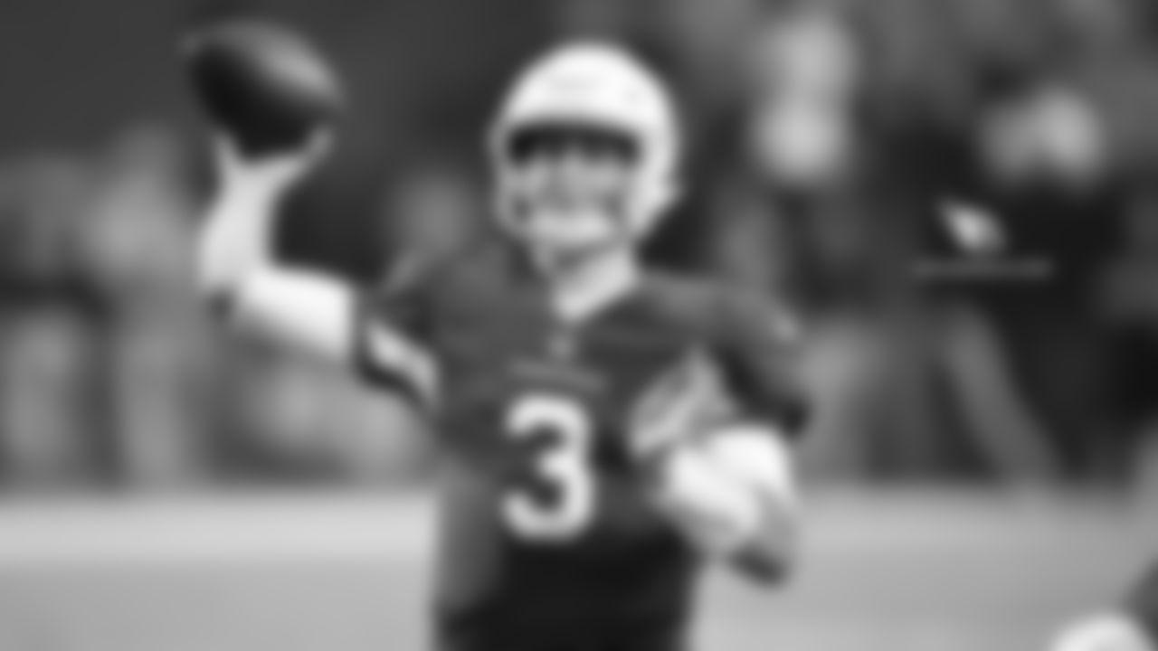 QB Josh Rosen: 217-of-393 for 2,278 yards, 11 TD, 14 INT