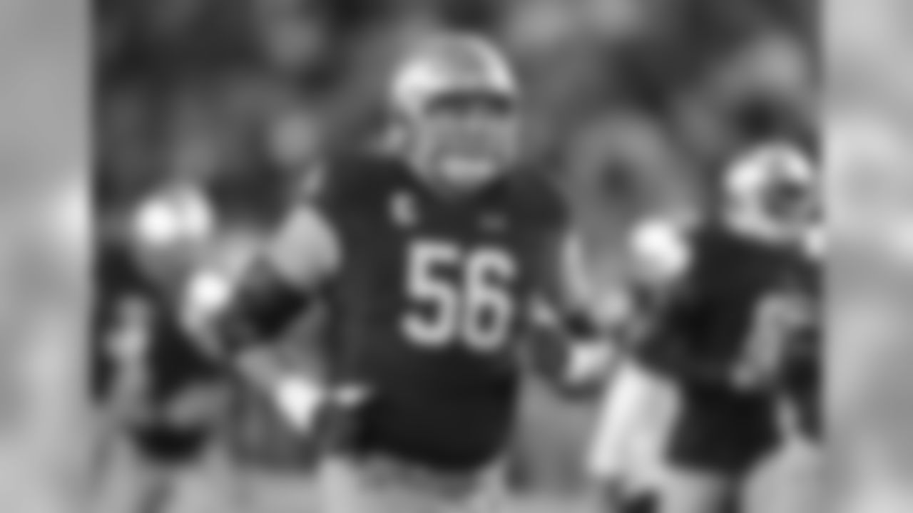 Notre Dame G Quenton Nelson: Projected first-rounder
