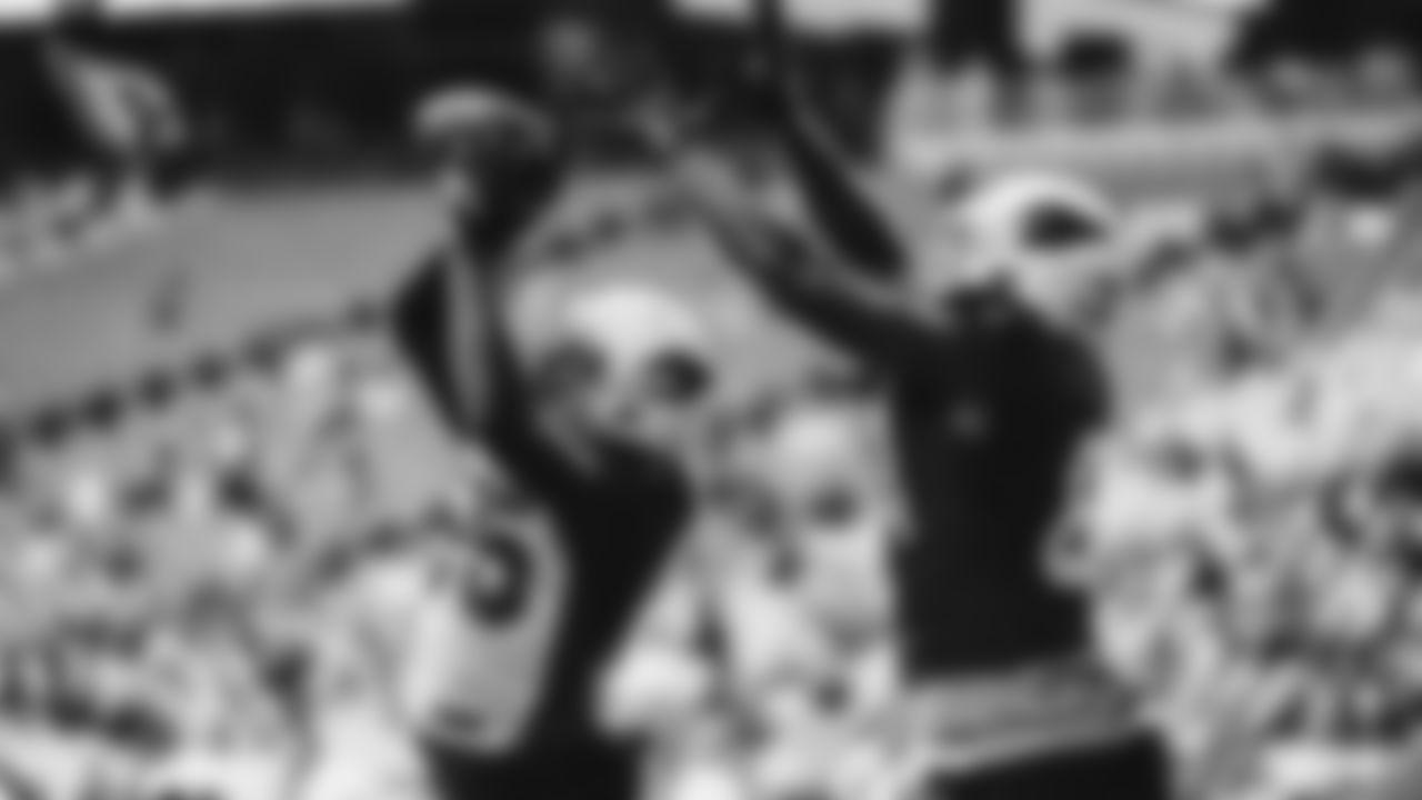 OLB Chandler Jones intercepts a pass
