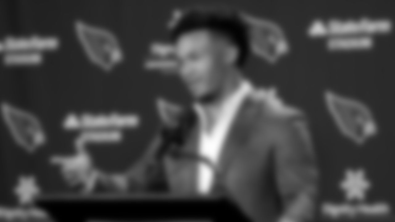 First-round pick: QB Kyler Murray