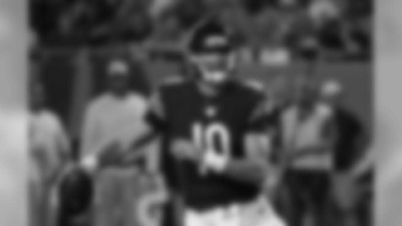 Quarterback Mitchell Trubisky