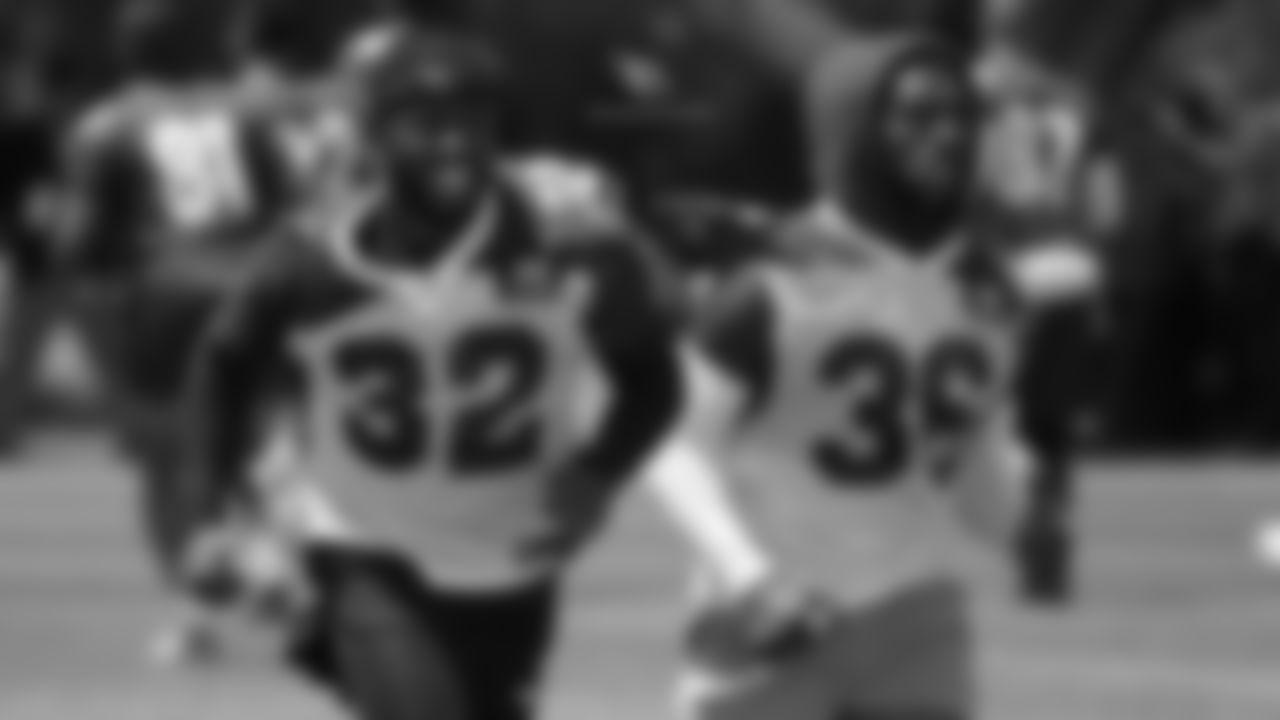 S Budda Baker (left) and S D.J. Swearinger