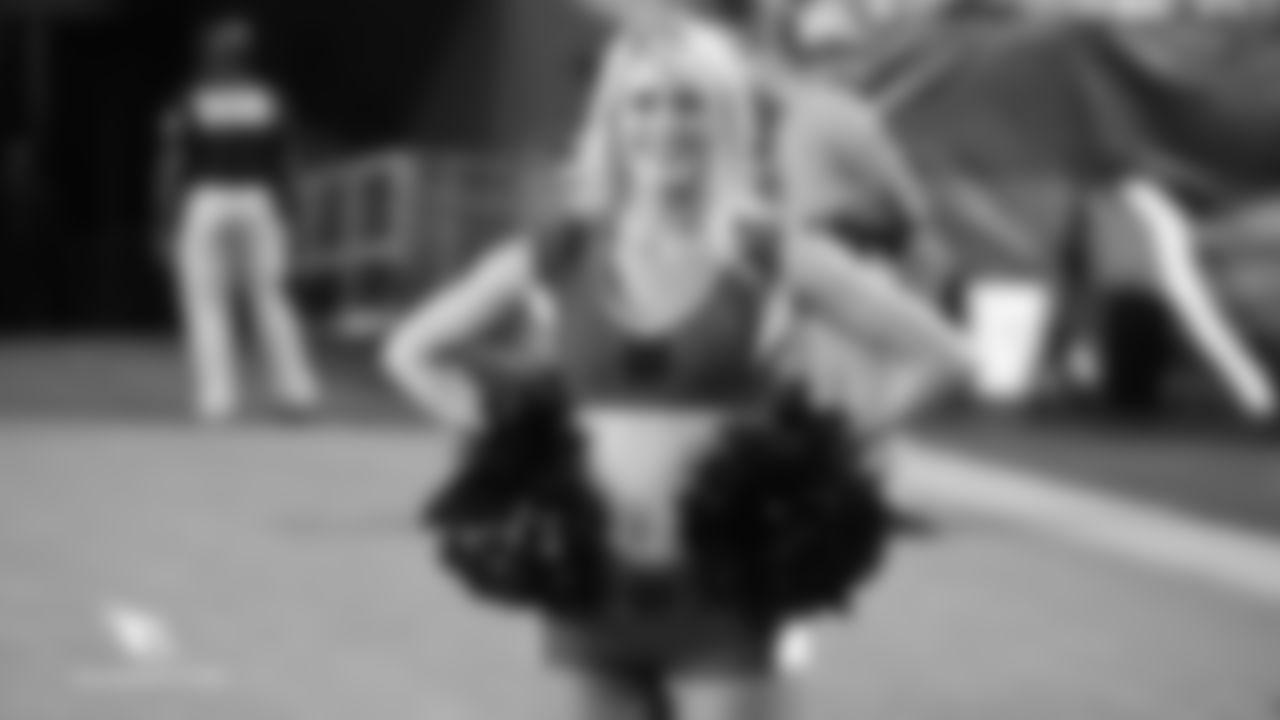 Images of Cardinals cheerleader Shasta from the 2018 season