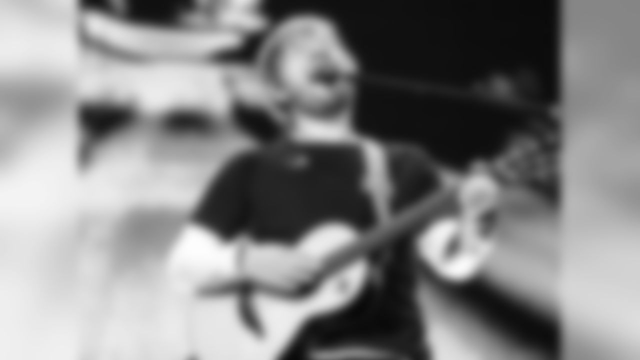 Ed Sheeran performing at Arrowhead Stadium during his 2018 North American Stadium Tour on October 13, 2018
