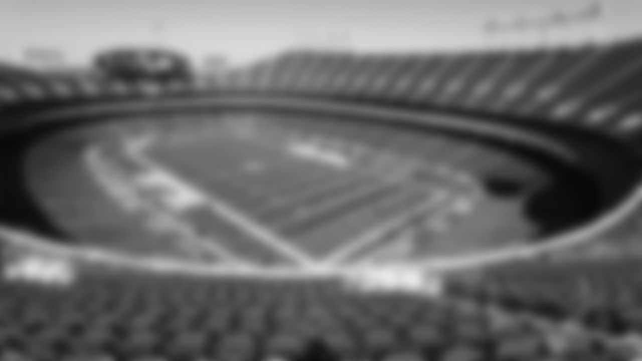 Arrowhead Stadium prior to an NFL football game against the New England Patriots, Monday, Oct. 5, 2020 in Kansas City.