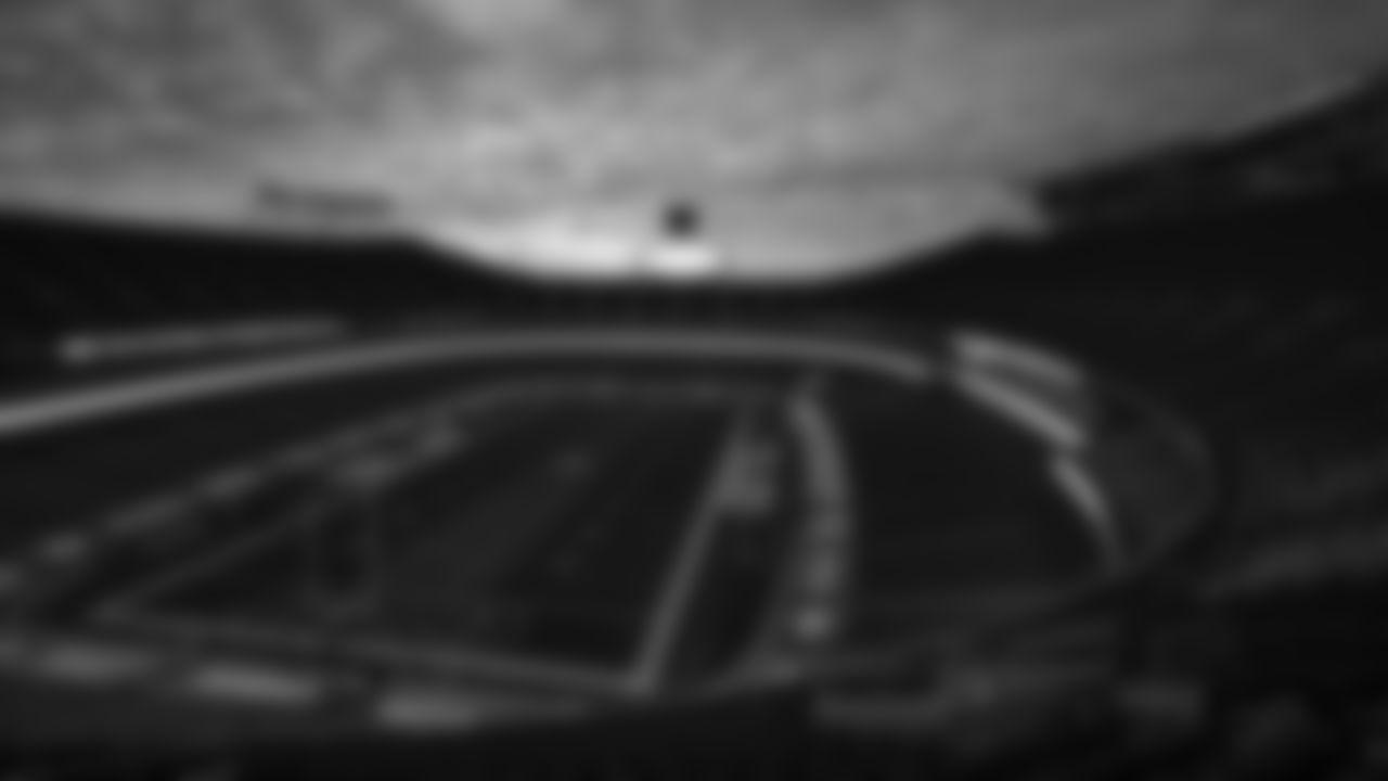 Sunrise over Arrowhead Stadium prior to an NFL Football game against the Atlanta Falcons, Sunday December 27, 2020 in Kansas City.