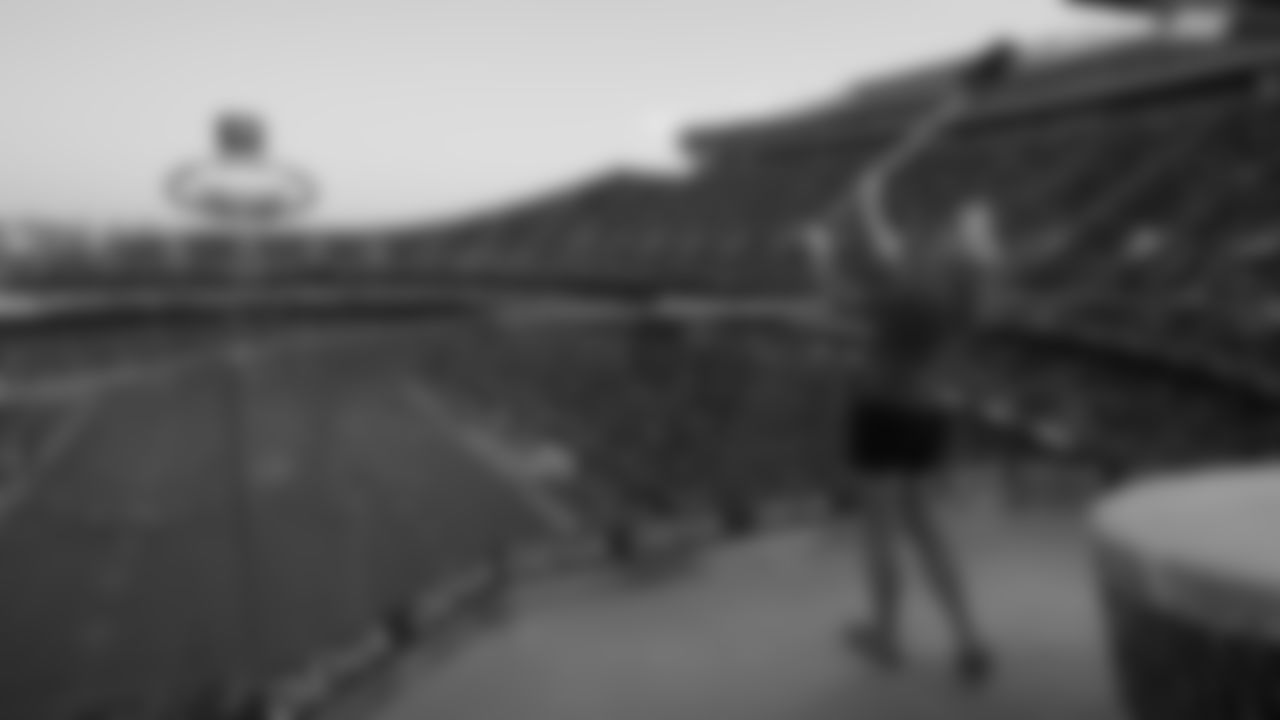 Kansas City Chiefs vs Minnesota Vikings during NFL preseason game at GEHA Field at Arrowhead Stadium in Kansas City on August 27, 2021