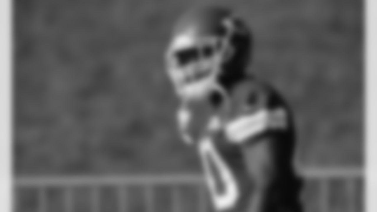 Kansas City Chiefs running back Derrick Gore (40) during rookie training camp at Missouri Western State University.
