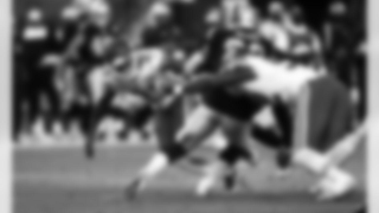 Kansas City Chiefs cornerback Bashaud Breeland (21) during an NFL football game against the Las Vegas Raiders at Allegiant Stadium on November 22, 2020