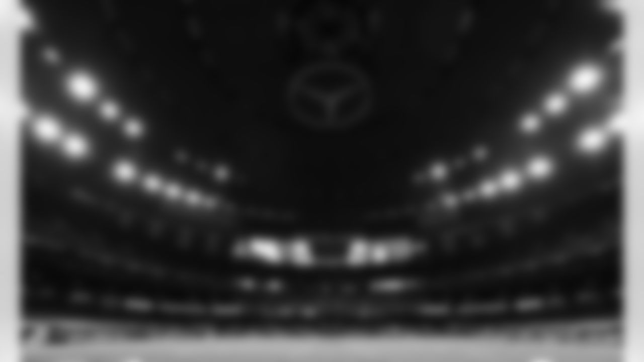 A view of the Mercedes-Benz Superdome prior to an NFL football game against the New Orleans Saints, Sunday, Dec. 20, 2020 in New Orleans.