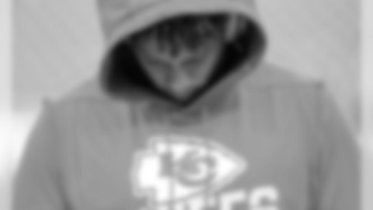 Kansas City Chiefs Quarterback Patrick Mahomes (15) prior to the game between the Kansas City Chiefs and the New England Patriots on December 8, 2019.