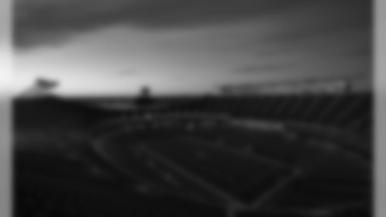 Arrowhead Stadium prior to the football game between the Kansas City Chiefs and the Minnesota Vikings at Arrowhead Stadium on November 3, 2019.