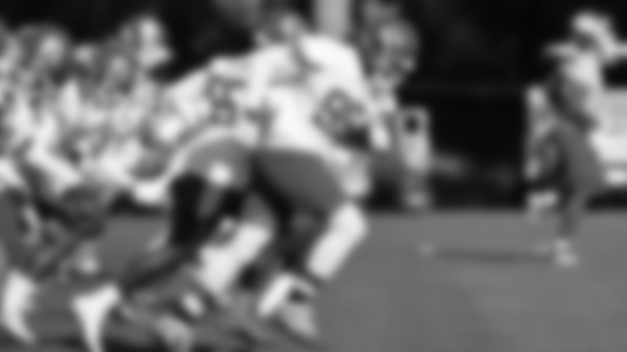 Kansas City Chiefs defensive end Chris Jones (95) during training camp practice at Missouri Western State University.