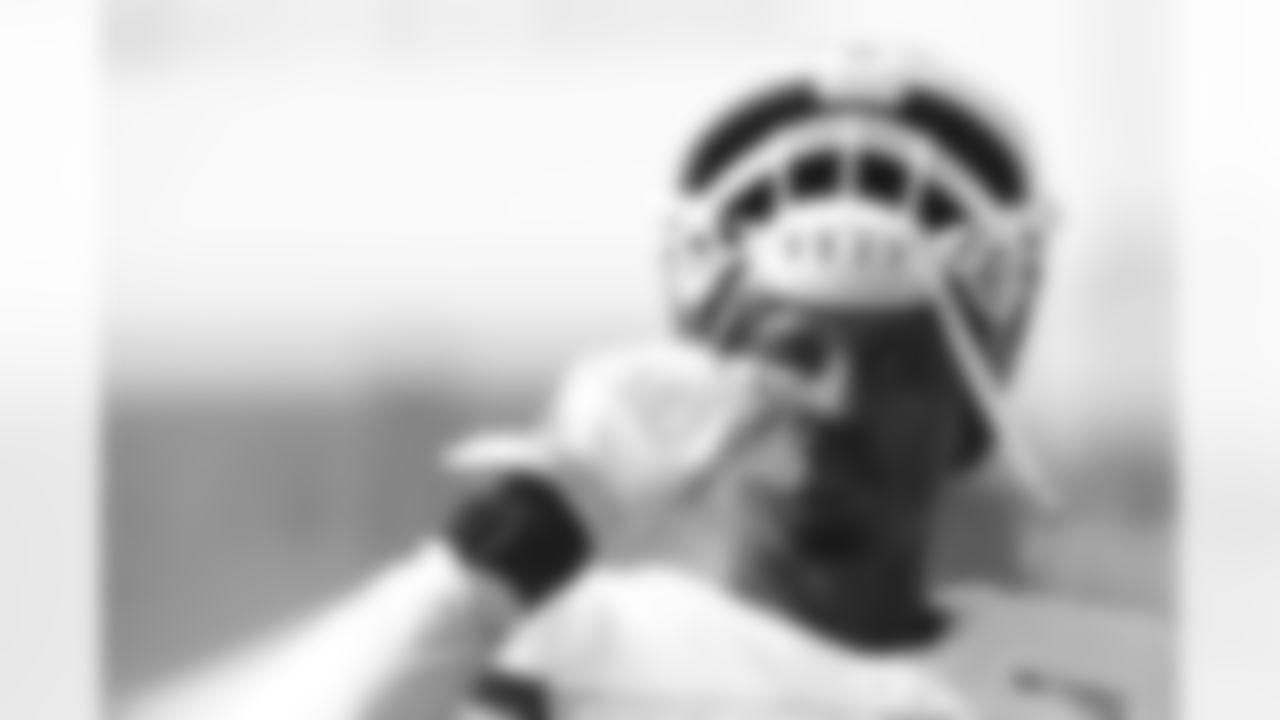 Kansas City Chiefs linebacker Emmanuel Smith (43) during training camp practice at Missouri Western State University.
