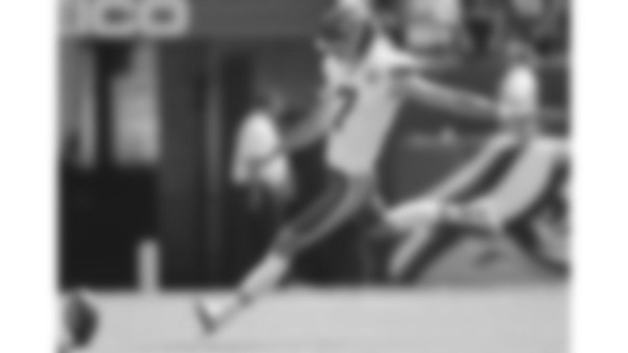 Kansas City Chiefs kicker Harrison Butker (7) during an NFL football game against the Philadelphia Eagles, Sunday, October 3, 2021 in Philadelphia.