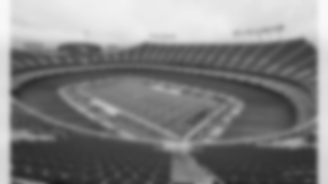 Scenic stadium view prior to the NFL football game between the Kansas City Chiefs and the Houston Texans at Arrowhead Stadium on September 10, 2020.
