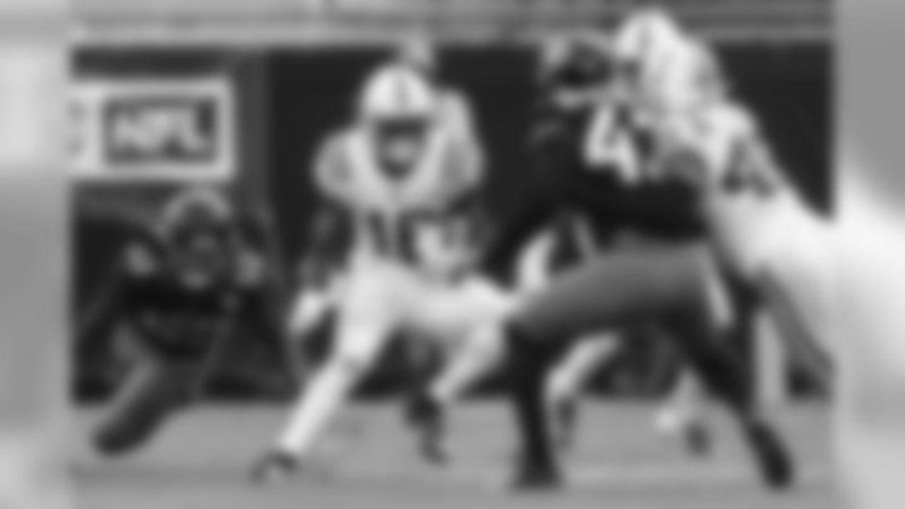 16 wide receiver Ashton Dulin
