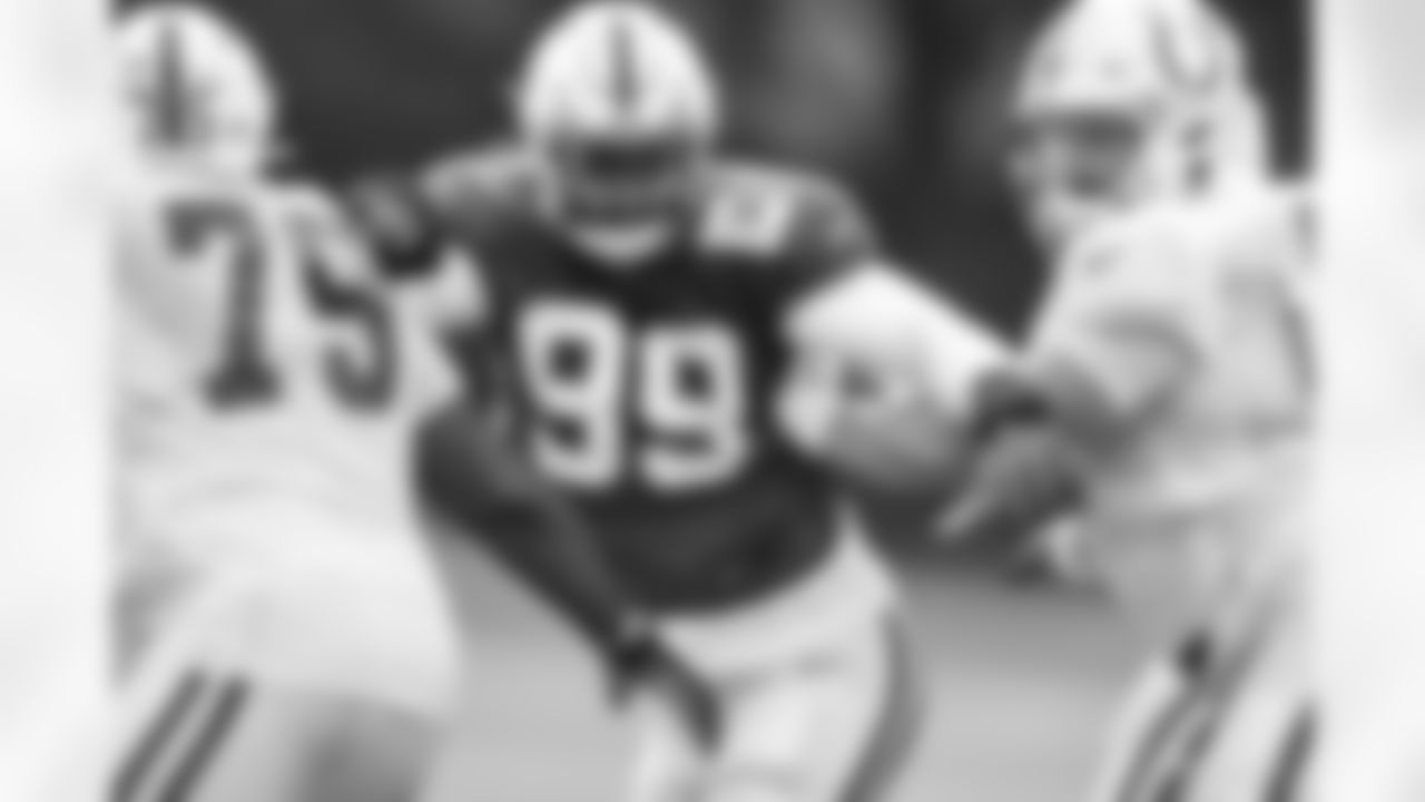 99 DT DeForest Buckner, #63 G Danny Pinter