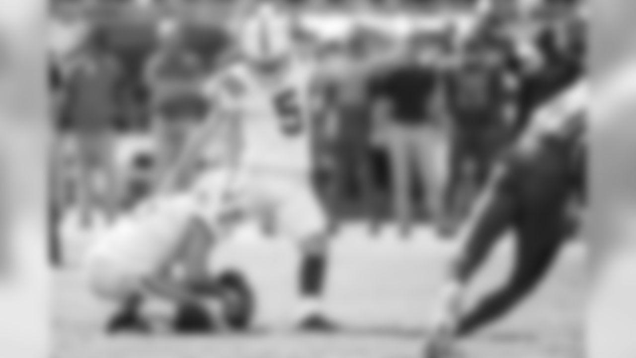 5 kicker Chase McLaughlin