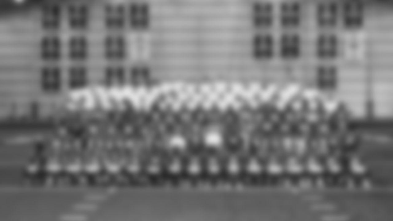 2019 Team Photo  First Row (L to R) 1-Chad Williams, 2-Brian Hoyer, 4-Adam Vinatieri, 6-Chad Kelly, 7-Jacoby Brissett, 8-Rigoberto Sanchez, 10-Daurice Fountain, 11-Deon Cain, 13-T.Y. Hilton, 14-Zach Pascal, 15-Parris Campbell, 16-Ashton Dulin, 17-Devin Funchess, 20-Jordan Wilkins, 21-Nyhiem Hines, 23-Kenny Moore II, 25-Marlon Mack  Second Row (L to R) 26-Clayton Geathers, 29-Malik Hooker, 30-George Odum, 31-Quincy Wilson, 33-Jonathan Williams, 34-Rock Ya-Sin, General Manager Chris Ballard, Owner and CEO Jim Irsay, Head Coach Frank Reich, 35-Pierre Desir, 36-Bruce Anderson III, 37-Khari Willis, 39-Marvell Tell III, 42-Rolan Milligan, #43-Deante Burton, #57-Kemoko Turay  Third Row (L to R) 44-Zaire Franklin, 45-E.J. Speed, 46-Luke Rhodes, 47-Shakial Taylor, 49-Matthew Adams, 50-Anthony Walker, 52-Ben Banogu, 53-Darius Leonard, 55-Skai Moore, 56-Quenton Nelson, 58-Bobby Okereke, 60-Jake Eldrenkamp, 62-Le'Raven Clark, 63-Josh Andrews, 64-Mark Glowinski, 65-Javon Patterson, 71-Jackson Barton  Fourth Row (L to R) 72-Braden Smith, 73-Joe Haeg, 74-Anthony Castonzo, 78-Ryan Kelly, 79-Jegs Jegede, 80-Chester Rogers, 81-Mo Alie-Cox, 83-Marcus Johnson, 84-Jack Doyle, 85-Eric Ebron, 90-Grover Stewart, 91-Trevon Coley, 92-Margus Hunt, 93-Jabaal Sheard, 94-Tyquan Lewis, 95-Gerri Green, 96-Denico Autry, 97-Al Quadin Muhammad, 99-Justin Houston  Fifth Row (L to R) Gunnard Twyner, David Overstreet II, Parks Frazier, Frank Ross, Alan Williams, Dave Borgonzi, Mike Phair, Jonathan Gannon, Bubba Ventrone, Matt Eberflus, Matt Sirianni, Marcus Brady, Kevin Patullo, Tom Rathman, Jason Michael, Chris Strausser, Klayton Adams  Sixth Row (L to R) Jerrod Johnson, Mitch Chester, Jeff Brown, Steve Randall, George Li, Brian Decker, Kirsten Gregurich, Rusty Jones, Richard Howell, Doug McKenney, Ryan Podell, Zane Fakes, David Thornton, Eric Simpson, Father Douglas Hunter  Seventh Row (L to R) John Park, Brian Seabrooks, Mike Mays, Sean Sullivan, Jon Scott, Kerry Gordon, Kyle Davis, Dave Hammer, Erin