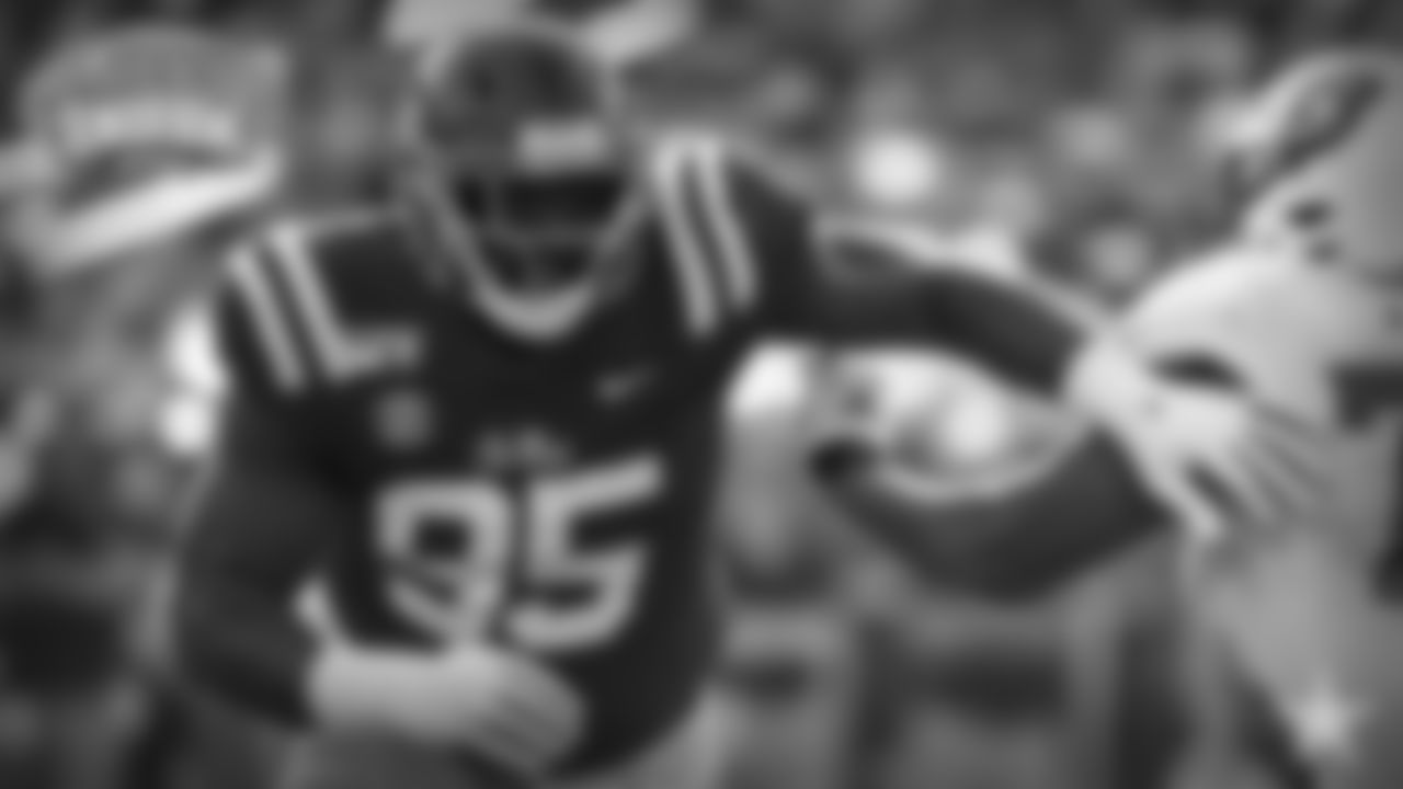 **10\. Benito Jones, DT, Ole Miss –** If the Cowboys were to draft Jones, it'd signify an undeniable change in strategy. At 6'1, 320-plus pounds, this is a dude who completely fits the gigantic, line-clogging archetype that people have been clamoring for the Cowboys to draft. He posted 5.5 sacks and 10 tackles for loss for a middling Ole Miss team, so he clearly knows how to get to the football, regardless of how big he is. It'll be fun to watch someone with this kind of bulk work with NFL coaches at practice.