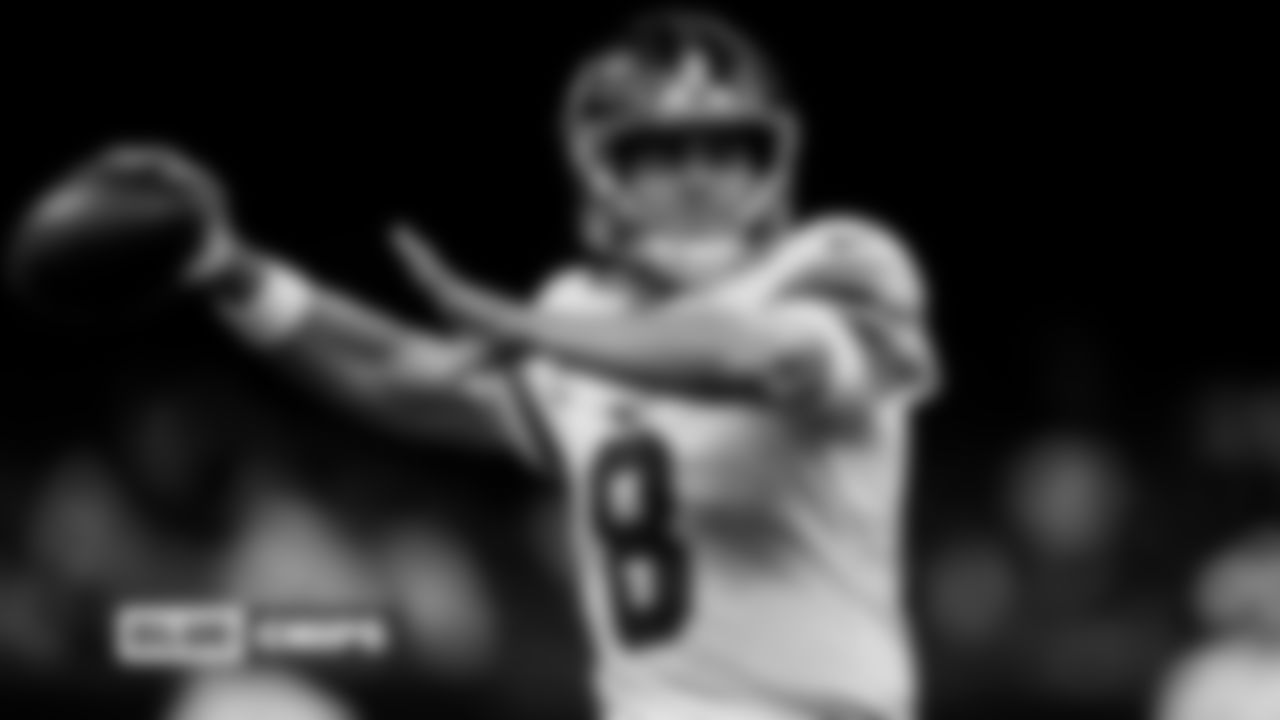 Daniel Jones, QB: The Giants' QB1 is playing the best football of his career in his second year in Jason Garrett's system. Jones has posted career-best numbers in completion percentage (66.7), pass yards per game (296.0), TD-INT (4-1), and passer rating (98.3) while exhibiting improved skills as a passer/playmaker. As one of only three players with 1,000-plus pass yards and 150-plus rushing yards (Lamar Jackson and Jalen Hurts), the Giants' young quarterback is emerging as a dynamic weapon at the position.