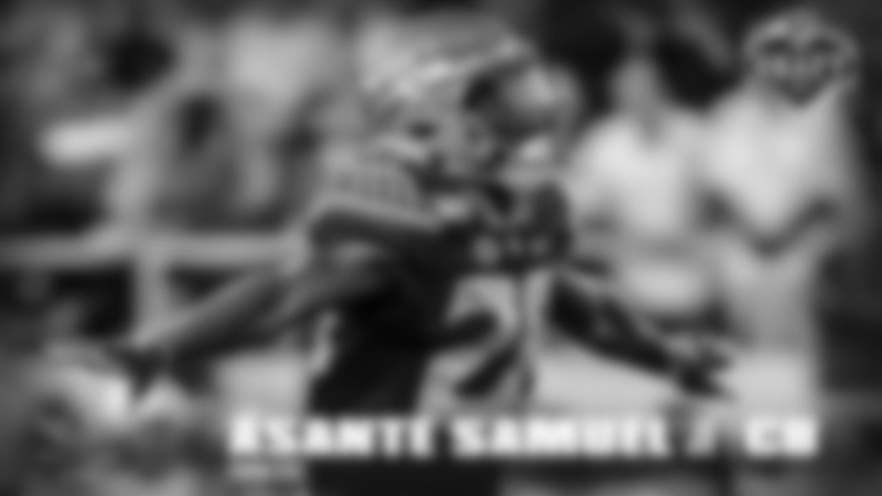 Asante Samuel Jr, CB, Florida State -Led team in INTs; Opted out of the 2020 season after eight games. One thing he didn't get from his father was his tackling, where he's better. Son of an NFL veteran cornerback who had many great moments against the Cowboys.