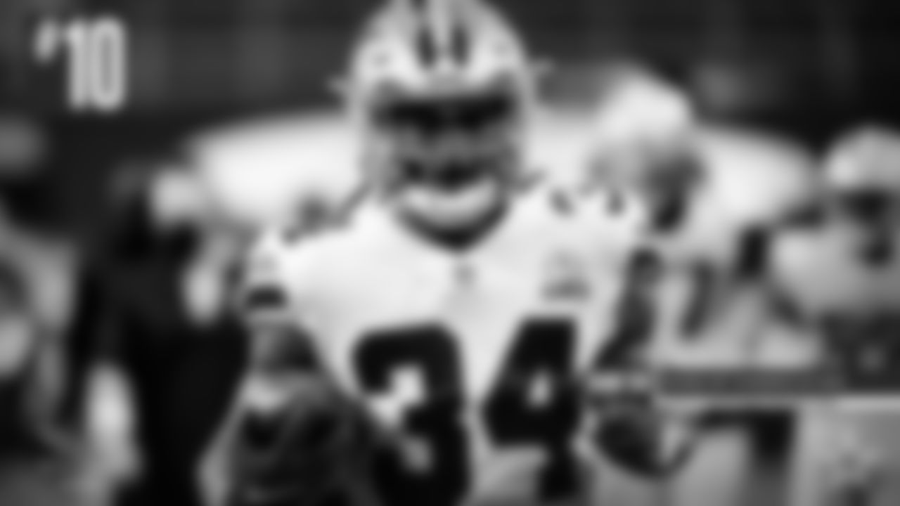 10) Rico Dowdle – Here's a guy who took full advantage of practice reps, something that isn't easy for a running back to do when there's little to no contact. But Dowdle's speed and burst were evident and he finally got to show it off in a game against the Steelers, when he caught a short kickoff and rumbled 64 yards down the sideline. He got a few snaps later in the season when Zeke was out. And he'll try to carry that success over into next season, especially if the preseason games return to the schedule.