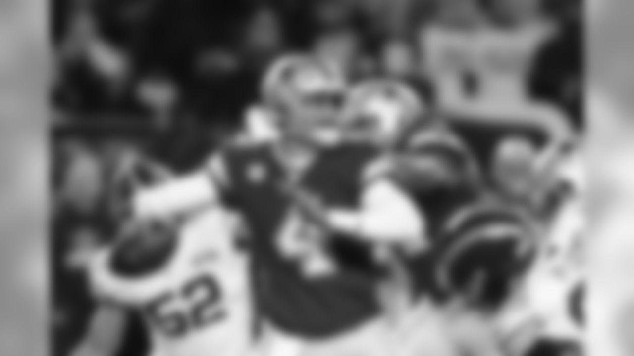 Dallas Cowboys quarterback Dak Prescott (4) throws during the first half of an NFL football game against the Chicago Bears, Thursday, Dec. 5, 2019, in Chicago. (AP Photo/Darron Cummings)