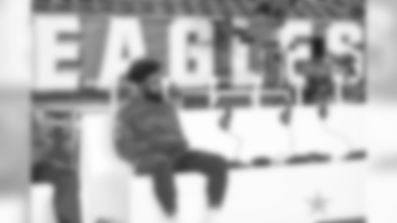 11 November 2018:    Views of the Dallas Cowboys before their NFL week 10 regular season game against the Philadelphia Eagles at Lincoln Financial Field in Philadelphia, Pennsylvania.  Photo by James D. Smith/Dallas Cowboys