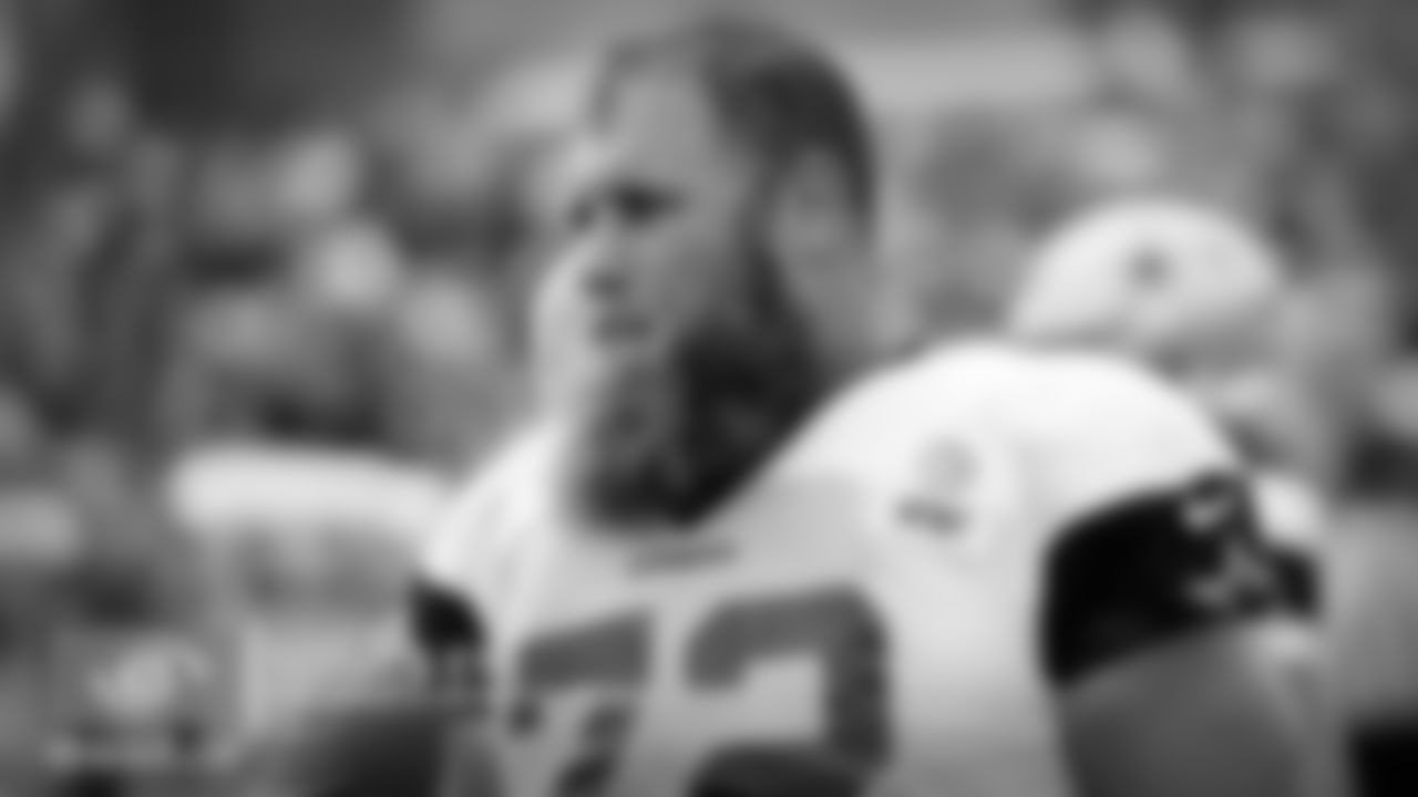 Travis Frederick had one of those plays in team period where you're starting to see things coming back to him. Before his illness, he was one of the best centers in the league when it came to playing in space. When he gets out on the edge, he generally stays on his feet and finds his target. I haven't seen him pull much in these practices, but today I got a little glimpse of him doing just that. He was able to get out on the edge and put a nice shot on Jaylon Smith, which allowed Tony Pollard to make the cut behind him. I feel like Frederick is still not what he once was -- but I am starting to see those signs.