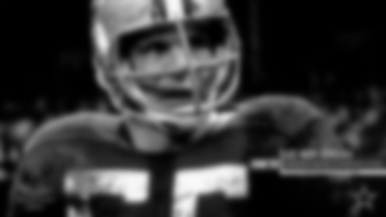 Lee Roy Jordan – One of the greatest middle linebackers in team history, Jordan was drafted sixth overall in 1963. He wasn't the prototype at linebacker, listed at 6-1 and 220 pounds, he made up for it with his instincts and ability to get to the football. And it wasn't just getting there to make the tackle, but oftentimes a turnover as well.  Jordan's 32 career interceptions are not only the most by a Cowboys linebacker but he's tied for third in NFL history for picks by a linebacker. Jordan also recorded three interceptions in one game against the Bengals in 1973, returning one for a touchdown. Jordan had 16 career fumble recoveries, which ranks fourth in franchise history.  He earned two All-Pro selections, five Pro Bowls and played in three Super Bowls, helping the Cowboys win their first-ever championship in the 1971 season.  In 1989, Jordan was inducted into the Ring of Honor, becoming the first inductee by current owner Jerry Jones.