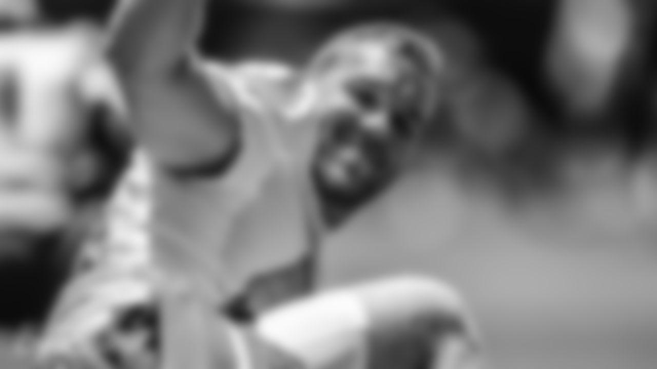 Longsnapper Blake Ferguson (44) during their offseason training activity on Monday, May 24th, 2021 in Davie, Fla. (Peter McMahon/Miami Dolphins via AP)