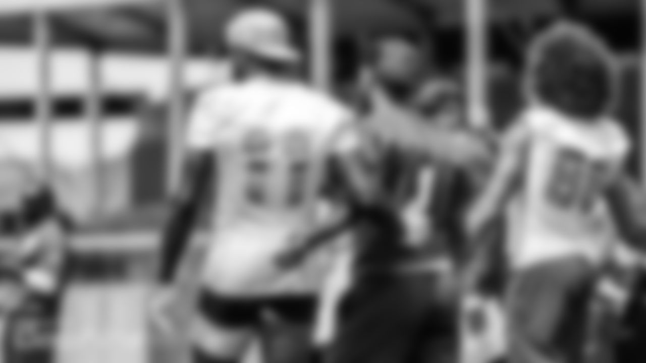 Miami Dolphins wide receiver DeVante Parker (11) and quarterback Tua Tagovailoa (1) during their offseason training activity on Friday, June 11th, 2021 in Davie, Fla. (Peter McMahon/Miami Dolphins via AP)