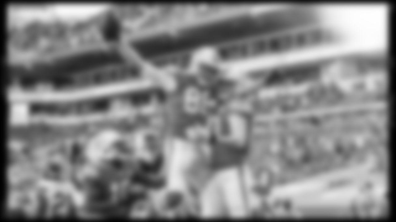 following an NFL football game against the Kansas City Chiefs Sunday, Dec. 13, 2020 in Miami Gardens, Fla. (Carlos Goldman/Miami Dolphins)