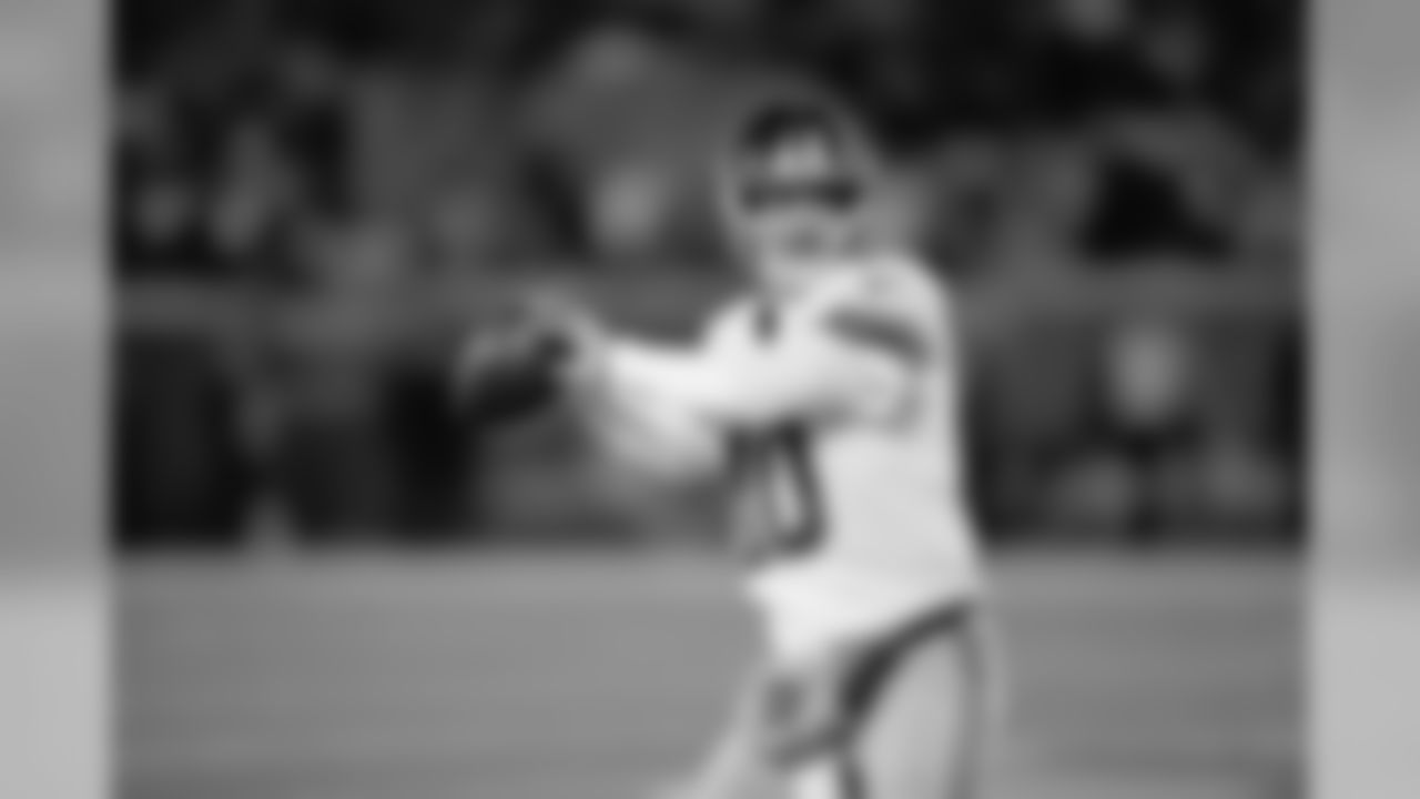 QB Eli Manning has passed for 4,134 yards and 33 touchdowns this season