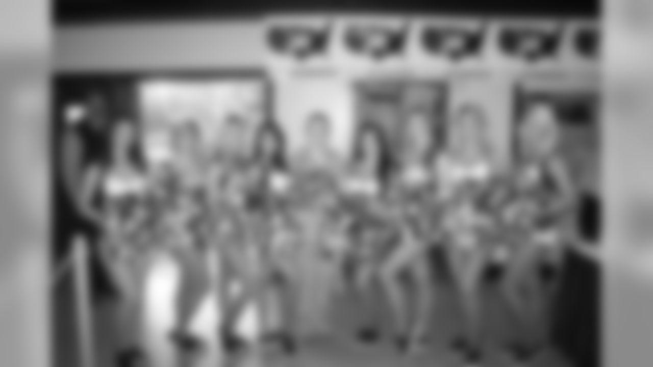 Cheerleaders at World Military Wrestling Championships