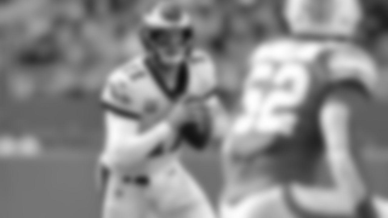 QB Carson Wentz  Philadelphia Eagles vs. Miami Dolphins at Hard Rock Stadium on December 1, 2019