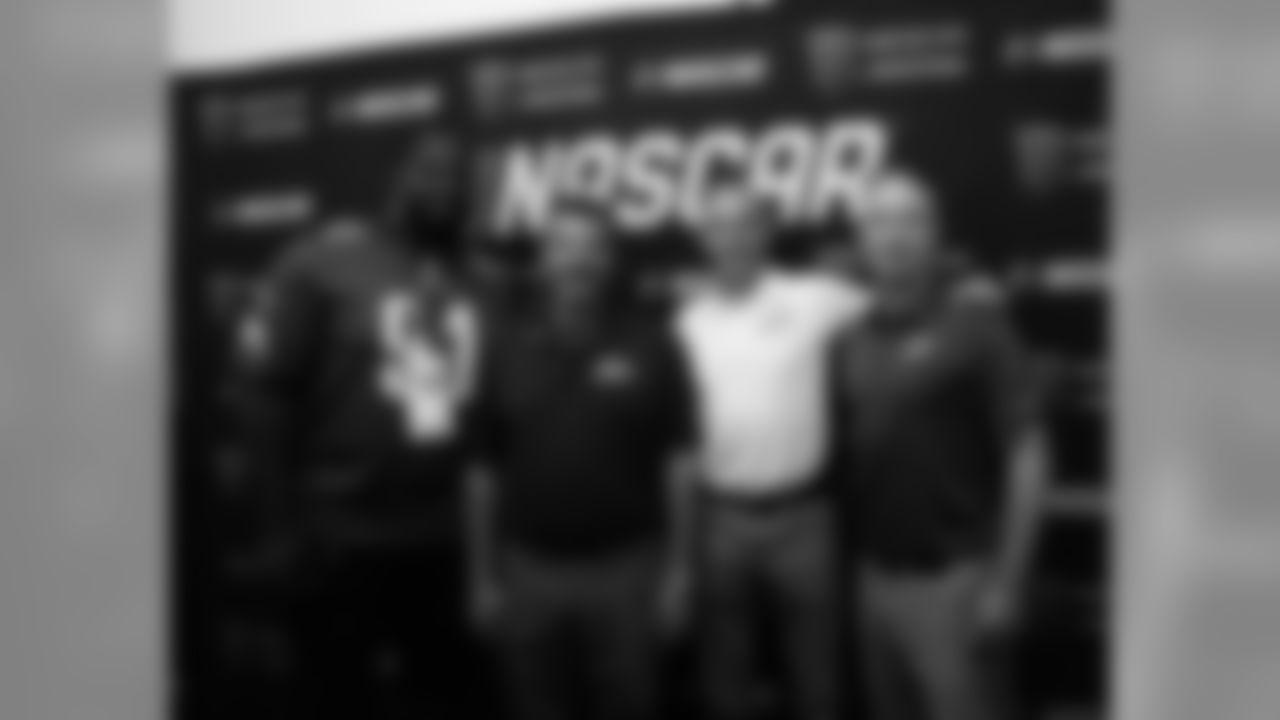 Brandon Igdalsky welcomed everyone to Pocono Raceway!