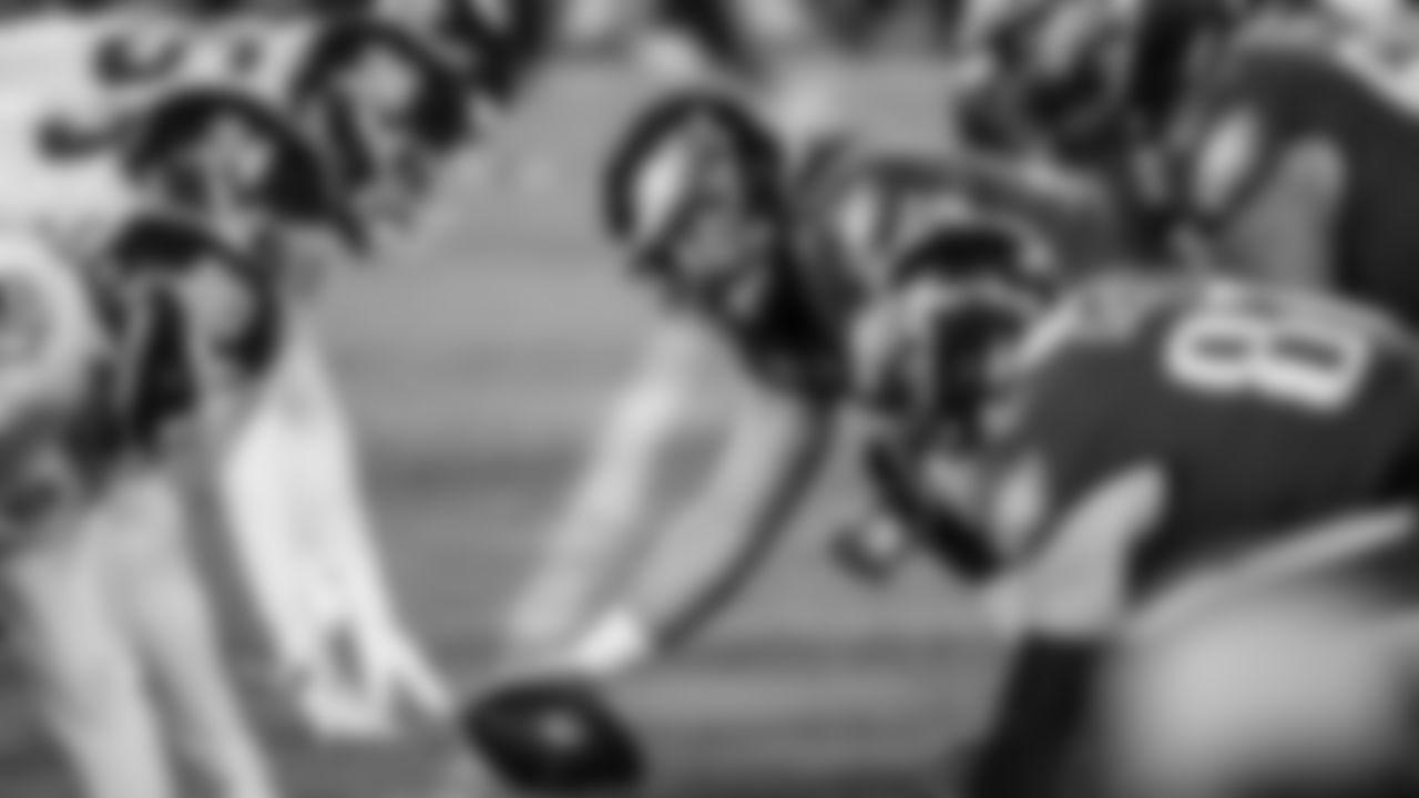 C Jason Kelce  Philadelphia Eagles vs. Washington Football Team at Lincoln Financial Field on January 3, 2021